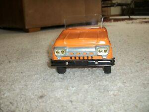 tonka semi tractor only no top has windsheild hiway orange 1961 or 62 original