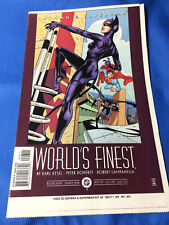 World's Finest #8 Catwoman app. 11/99 Cover ONLY Artist Proof Promo ART RARE