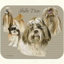 Fiddlers Elbow DOG PUPPY SHIH TZU Mouse Pad 9 x 8 Made in the USA NEW