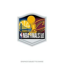 2018 NBA Finals Dueling Rect Lapel Pin Cleveland Cavaliers Golden State Warriors