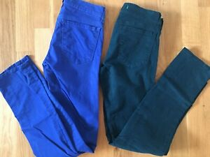 J Brand Cotton Bright Colour Jeans for Girls Age Around 11 -12
