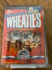 Wheaties Box 1980 U. S. Olympic Ice Hockey Team - Commemorative Edition