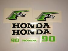 Honda 90hp 4-Stroke Outboard Decal Kit custom limegreen USA free fast shipping