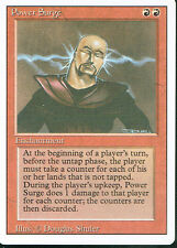 MAGIC THE GATHERING REVISED RED RARE POWER SURGE