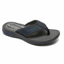 Rockport Men's Get Your Kicks  GYKS Thong  Flip Flops, Blue, V79625 Size 9