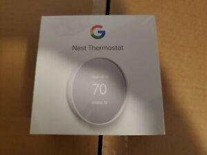 Google(G4CVZ) - Nest Smart Programmable Wifi Thermostat - Snow