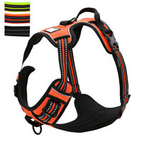 Reflective No Pull Dog Harness Front Leading Vest Adjustable for Small Large Dog
