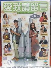 DVD HK TVB Drama Swipe Tab Love 愛我請留言 Eps 1-20END Eng Sub All Region FREE SHIP