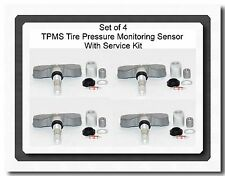 4 Kits TPMS Tire Pressure Monitoring System Sensor For Buick  Chevrolet Cadillac