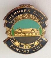 Renmark Club Bowling Club Badge Pin Lawn Bowls Vintage (K2)