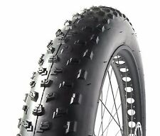"Moosetreks Fat Bike Tire 26 x 4.0"" (26x4) (Black) Wire Bead 