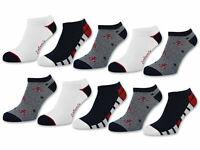 10 Paar Damen Sneaker Socken Maritim mit Komfortbund ohne Gummidruck - Baumwolle