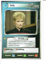 STAR TREK CCG WHITE BORDER PREMIERE 1995 BETA RARE CARD SHELBY