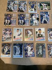 Chicago Cubs Baseball card lot + 85 Rizzo, Contreras + Hoerner RC + Bowman First