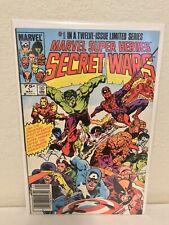 Marvel Super Heroes Secret Wars #1 FN+ Marvel Comics 1984 Newsstand