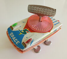 RARE TIN TOY CHINA WIND-UP MS 883 SPACE RADAR CAR