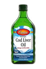 Carlson Cod Liver Oil, Natural, 1,100 mg Omega-3s, 500 mL