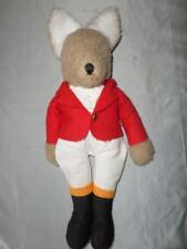 Classy Fox Stuffed Toy/Ornament in Hunting Jacket, Breeches and Boots