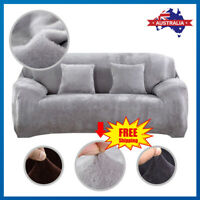 1 2 3 Seater Stretch Sofa Cover Couch Lounge Recliner Chair Slipcover Protector*