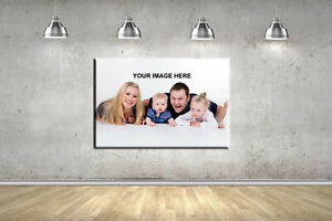 Box Canvas Print Your Personalised Photo Any Picture Design Your Own 5 Sizes