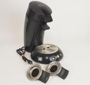 Black Philips Senseo HD 7810 Black Single Serve Coffee Maker Machine - Complete
