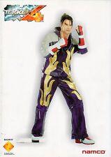TEKKEN 4 Figur Prospekt Namco mucklefiguren - Prospekt - B3274