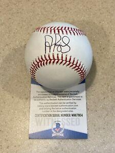 Albert Pujols signed OML baseball ** Beckett **