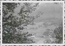 """Chamonix, le hameau """"La Gria"""" Vintage silver printEnserrée entre les massifs m"""