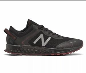 New Balance Mens MTARISN1 Black / Team Red Trail Running Shoes Size 12