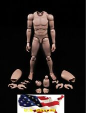 NEW Custom 1/6 hot toys Nude Caucasian Body Narrow Shoulder as TTM18 TTM21 ❶USA❶