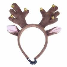 Rosewood Fun, Festive, Christmas, Jingle Bell Antlers With Elasticated Strap