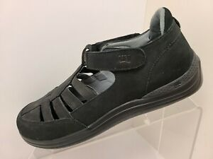 Drew Women's Size 8.5 W Maryann Nubuck Fisherman Walking Shoes