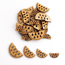 Wooden MDF Shapes Crafts Watermelon Scrapbook Embellishments Card Decoration