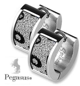 NEW & SEALED - Quality Leopard Print Huggy Hinged Hoop Pair Earrings