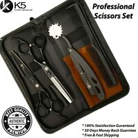 Professional Hairdressing Hair Cutting Barber Salon Thinning Scissors Shears Set