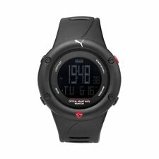 Puma Watch Wrist Band Men's Optical Cardiac Black Digital pu911291001