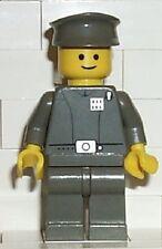 LEGO Star Wars Minifig Imperial Officer VINTAGE OLD GREY Episode 4/5/6 NEW