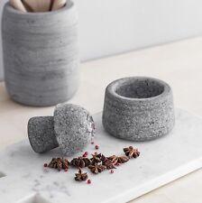 Mortero de piedra granítica calentar con especias Molinillo Trituradora De Hielo Vintage Grande Reino Unido