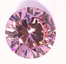 20 ct Stunning Brilliant Pink Vintage Top AAAA CZ Moissanite Simulant 18 mm