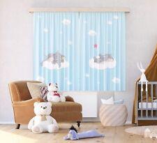 Par De Listo Hecho Dumbo Cortinas Infantil Dormitorio Disney Diseño 180x160cm