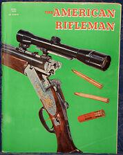 Magazine American Rifleman, APRIL 1970 !CHARTER ARMS Pocket Target .22 REVOLVER!