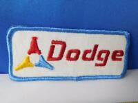DODGE CAR TRUCK LOGO VINTAGE HAT VEST PATCH BADGE DEALER GARAGE ADVERTISING