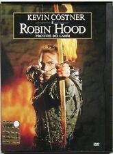 Dvd Robin Hood - Principe dei ladri - Snapper con Kevin Costner 1991 Usato raro
