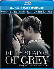 Fifty Shades of Grey (Blu-ray/DVD, 2015, 2-Disc Set, Canadian)