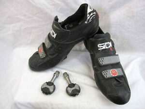 Sidi Genius road bike shoes, w/ Speedplay pedals and cleats, VERY GOOD condition