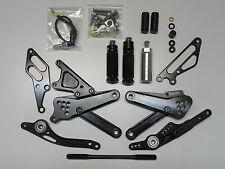 Yamaha R1 09 10 11 12 13 14 Race-Europe Reposapiés wx, negro nuevo