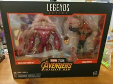 Marvel Legends Iron Man Mark 50 + Iron Spider 2-Pack Target Exclusive! NEW 2018