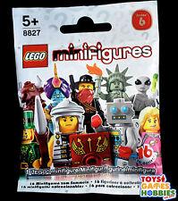 *NEW* LEGO Minifigure SERIES 6- SEALED RANDOM BLIND BAG Roman? Liberty? Sleepy?