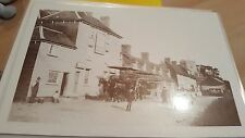 Horse drawn Old buses in Essex ?   c 1910  laminated photo  ebay uk