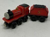 Thomas & Friends Wooden Railway - James & Tender - 2003 - GUC